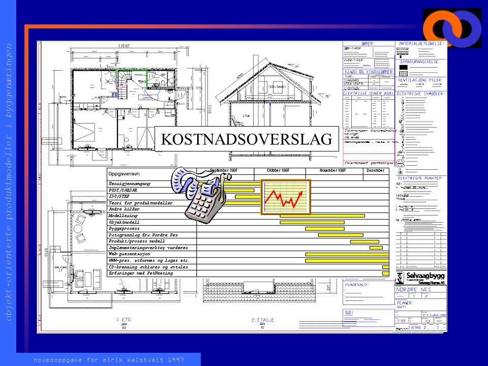 objekt-orienterte produktmodeller i byggenæringen hovedoppgave for eirik kalstveit 1997 Hva er en enebolig? En plass å oppholde seg Vegger, vinduer, d