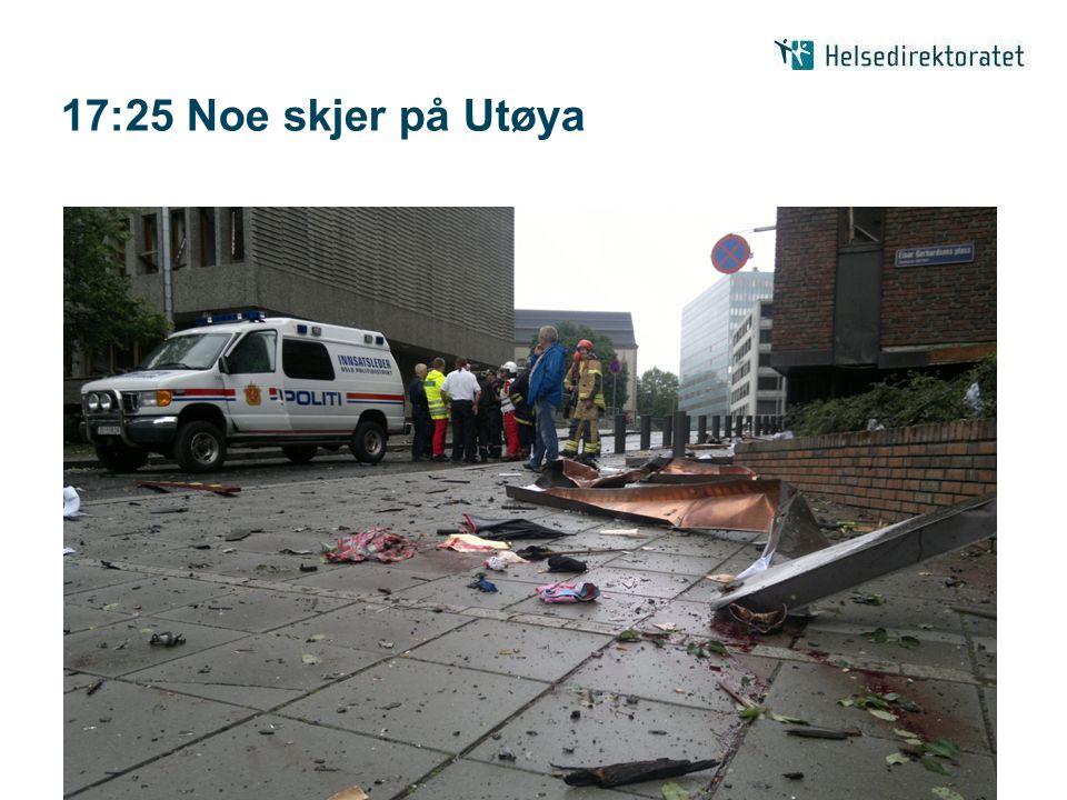 17:25 Noe skjer på Utøya