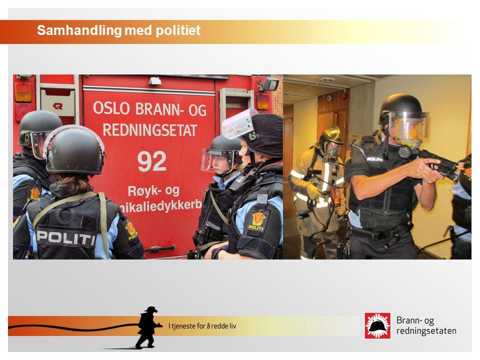 Samhandling med politiet