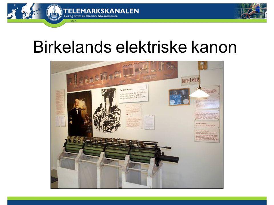 Birkelands elektriske kanon