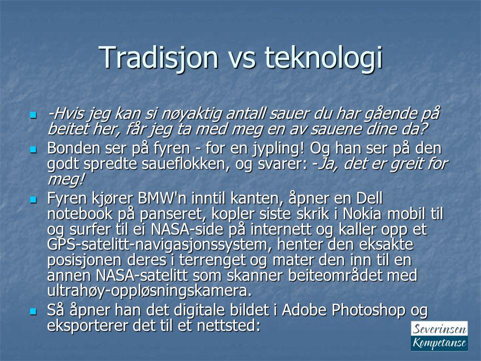 Tradisjon vs teknologi Image Processing Facility i Hamburg.