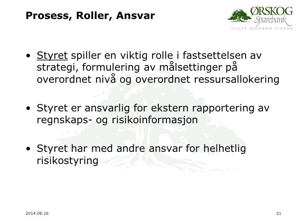 2014.08.1622 Prosess, Roller, Ansvar Adm.