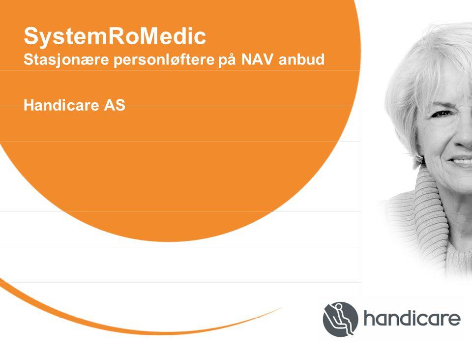 SystemRoMedic Stasjonære personløftere på NAV anbud Handicare AS