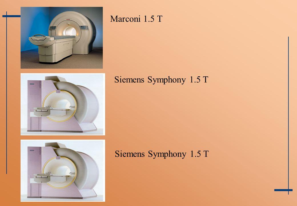 Marconi 1.5 T Siemens Symphony 1.5 T