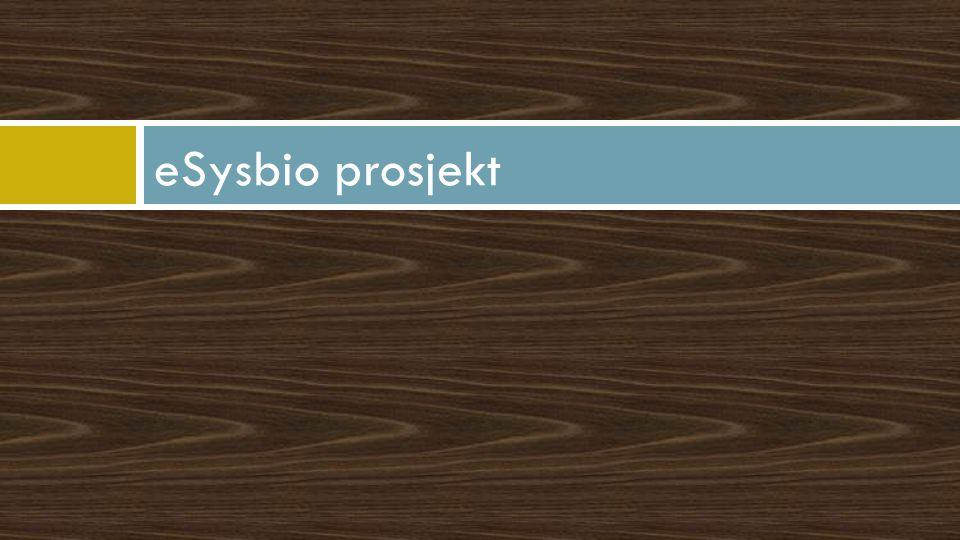 eSysbio prosjekt