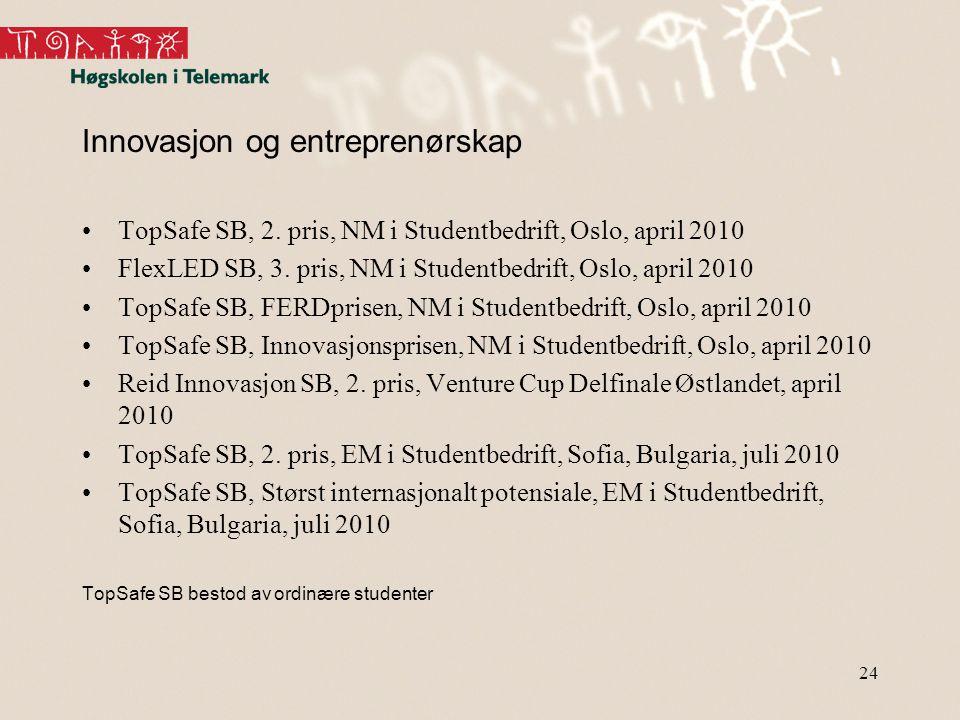 24 Innovasjon og entreprenørskap TopSafe SB, 2.