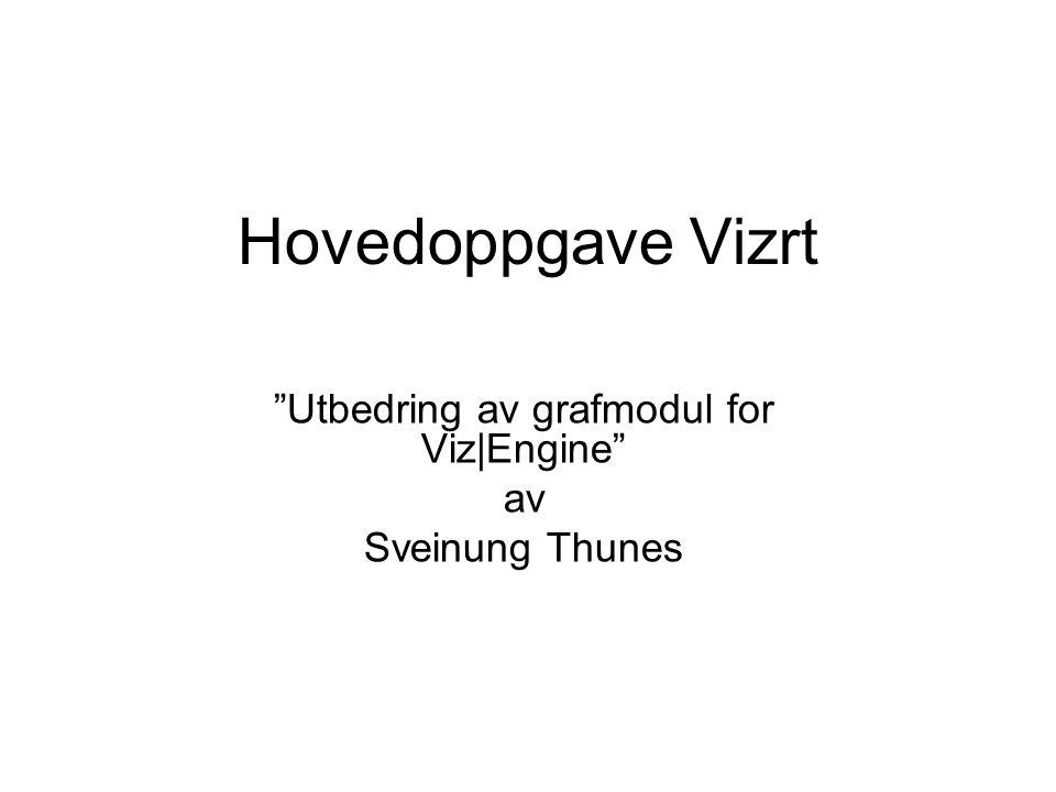 Hovedoppgave Vizrt Utbedring av grafmodul for Viz|Engine av Sveinung Thunes