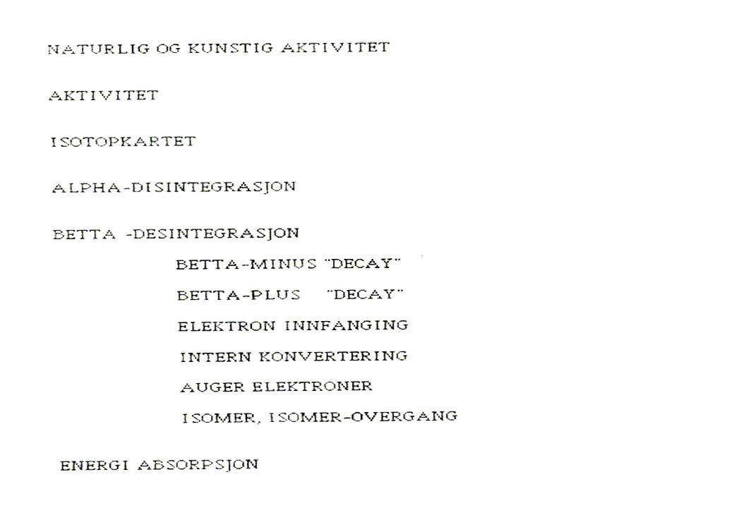 Eksempel på desintegrasjonskjema-4:
