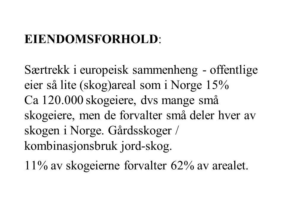 Bonitet – se figur side 19 Landsbasis, 80% lav og middels Vestlandet, 45% lav og middels Tilvekst kontra avvirking -på 70 år doblet volumet i norske s