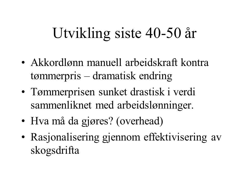 EIENDOMSFORHOLD: Særtrekk i europeisk sammenheng - offentlige eier så lite (skog)areal som i Norge 15% Ca 120.000 skogeiere, dvs mange små skogeiere,