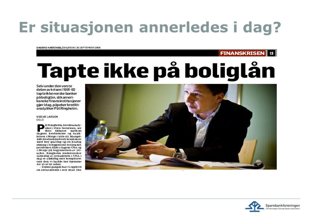 Sviktende omdømme, bransjeproblem III: Nye reguleringer.. 54  17.08.2014