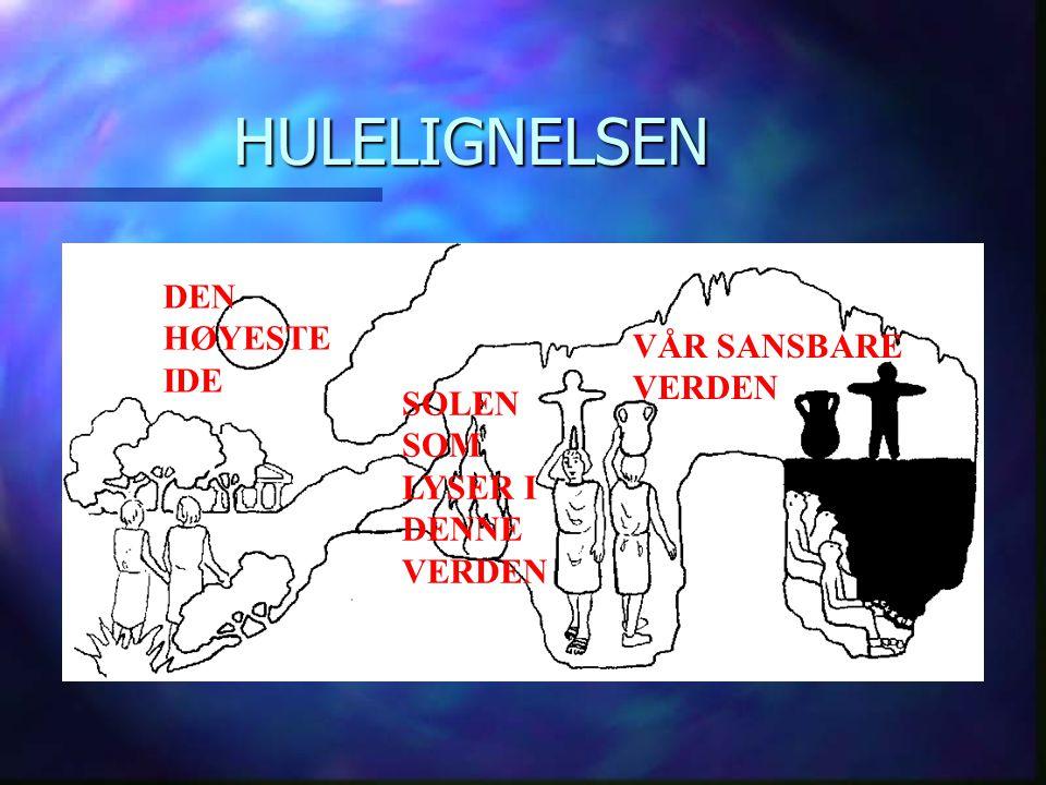 HULELIGNELSEN VÅR SANSBARE VERDEN SOLEN SOM LYSER I DENNE VERDEN DEN HØYESTE IDE