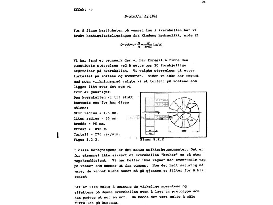 Neste bilde viser kopi av en tekstside fra et hovedprosjekt Karakteren for et slikt bilde er STRYK ! Det kan ikke leses av møtedeltagerne.