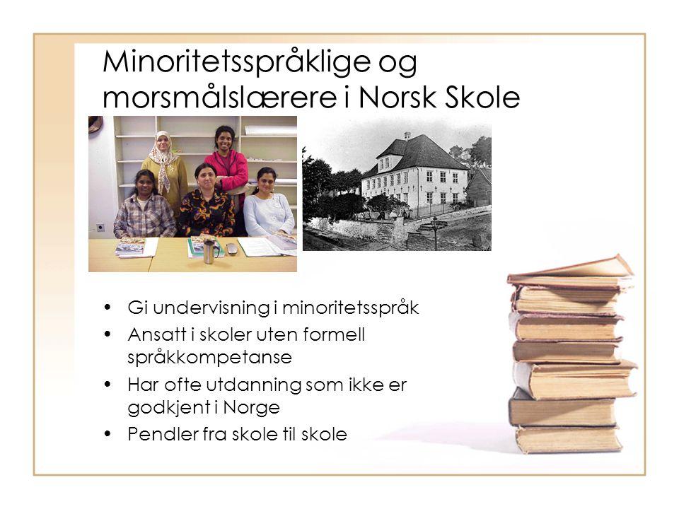 Behov for tilleggsutdanning i Norge Problem for gruppen Studenter spredd over hele landet.