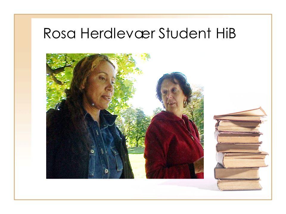 Rosa Herdlevær Student HiB