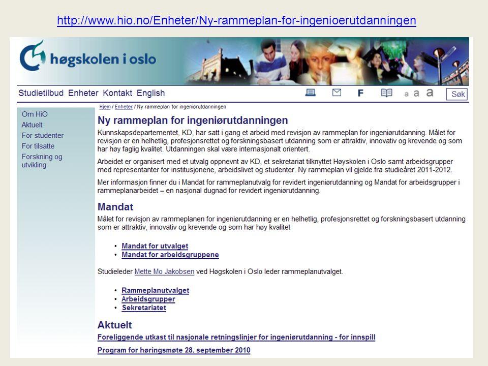 http://www.hio.no/Enheter/Ny-rammeplan-for-ingenioerutdanningen