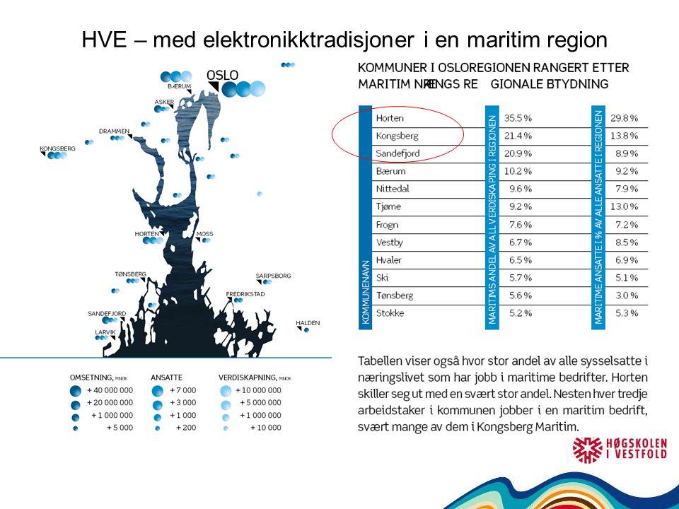 HVE – med elektronikktradisjoner i en maritim region