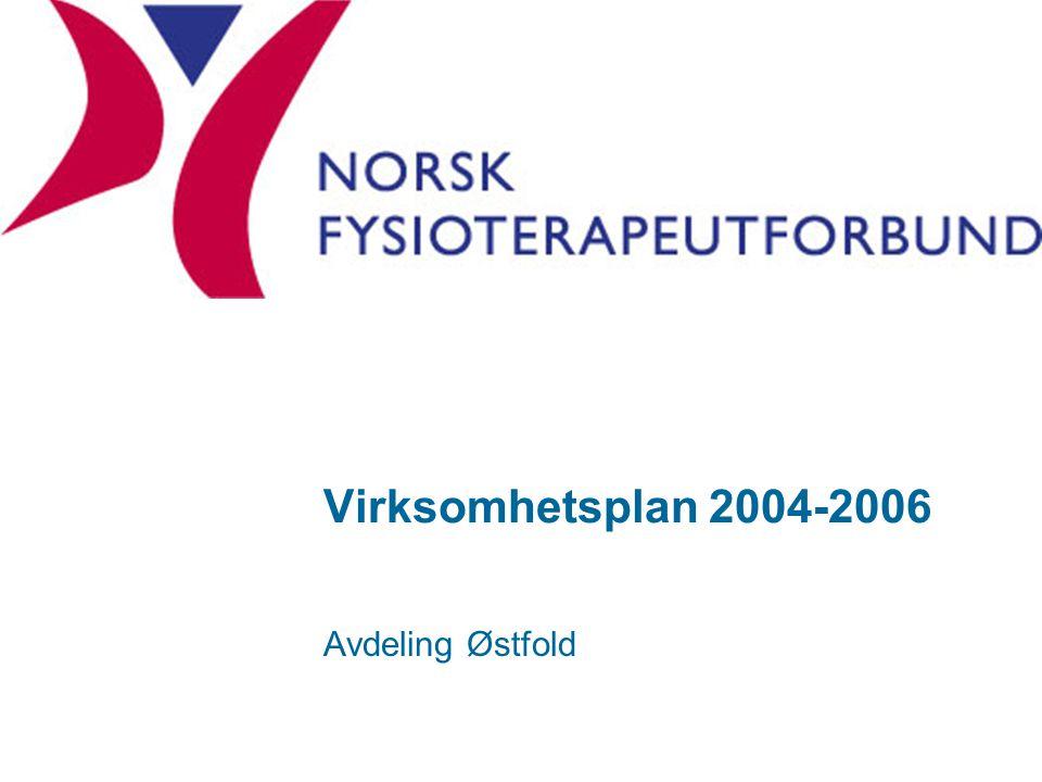 Virksomhetsplan 2004-2006 Avdeling Østfold