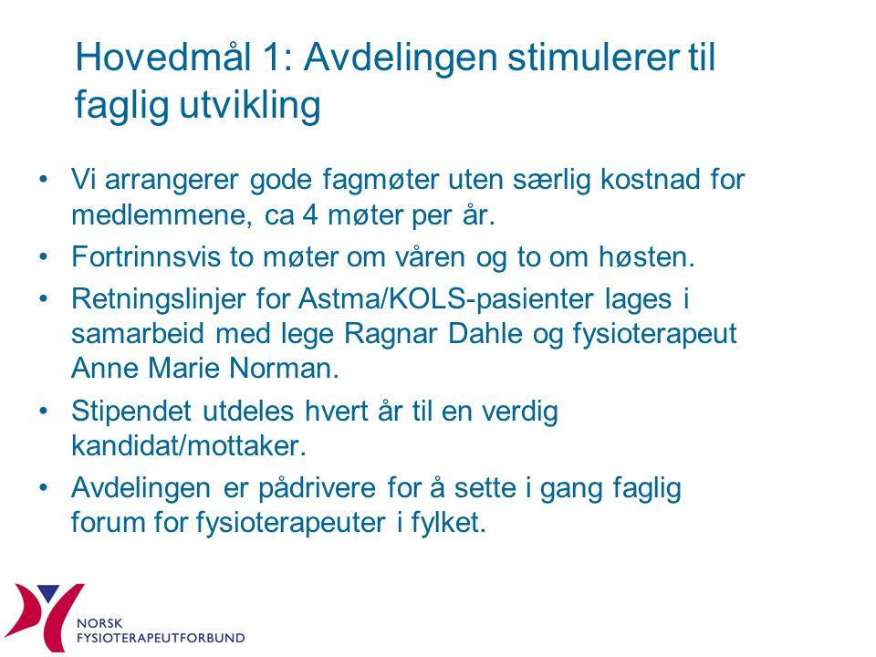 Hovedmål 2: Det er fagpolitisk engasjement i alle Østfoldkommuner Vi har tillitsvalgte og kontaktpersoner i alle kommuner.