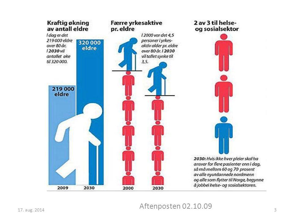 17. aug. 2014 Aftenposten 02.10.09 3