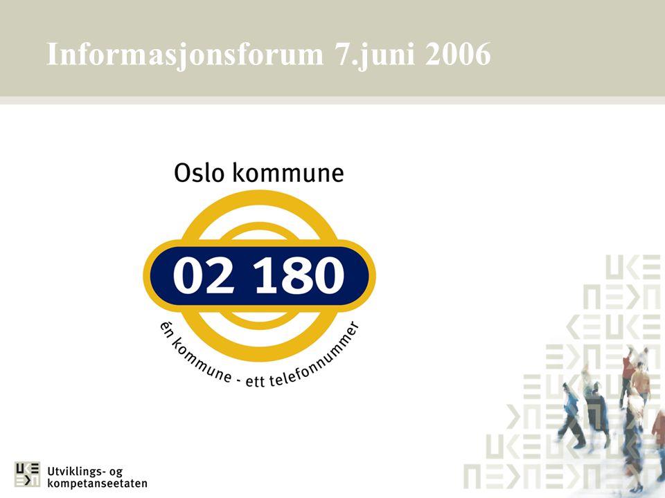 Informasjonsforum 7.juni 2006