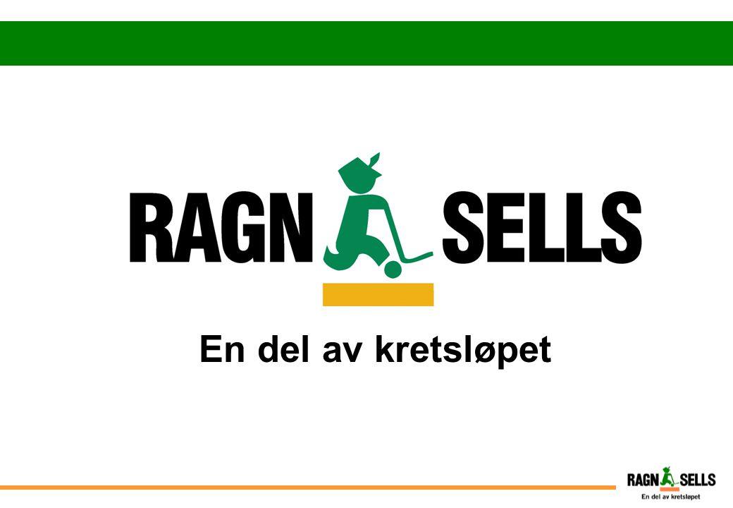 Ragn-Sells konsernet  Grunnlagt 1966 av Ragnar Sellberg  Eies i dag 100% av Ragnar Sellbergs 3 barn  Omsetter ca 3,5 mrd.