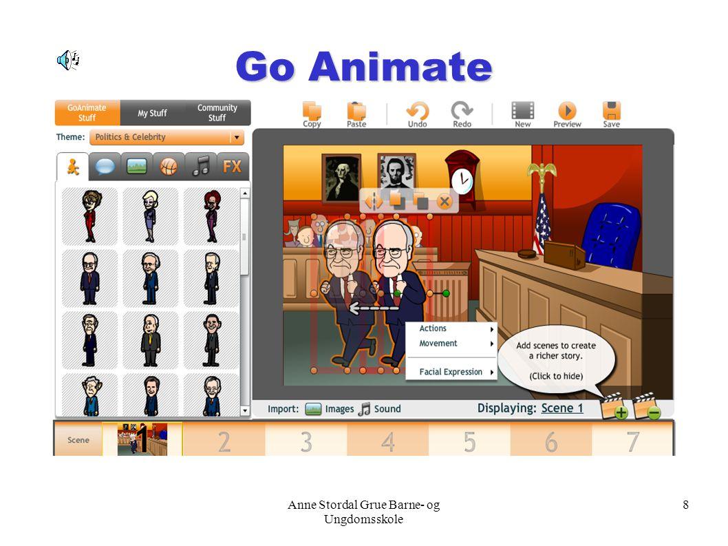 Anne Stordal Grue Barne- og Ungdomsskole 8 Go Animate