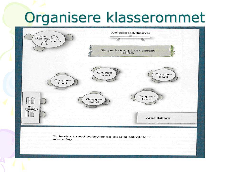 Organisere klasserommet