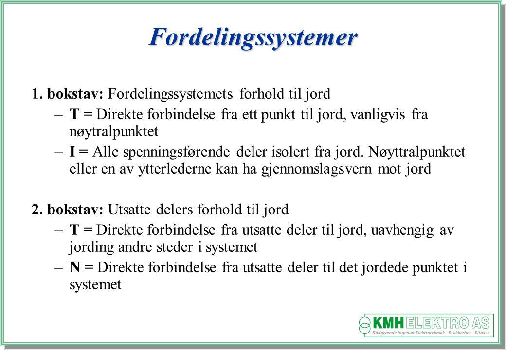 Fordelingssystemer 1.