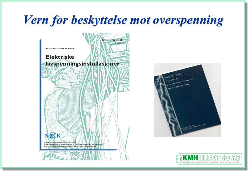 Kjell Morten Halvorsen Vern for beskyttelse mot overspenning