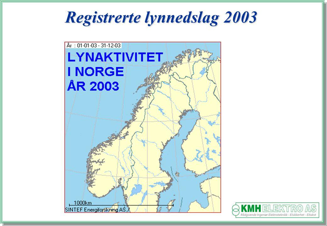 Kjell Morten Halvorsen Registrerte lynnedslag 2003