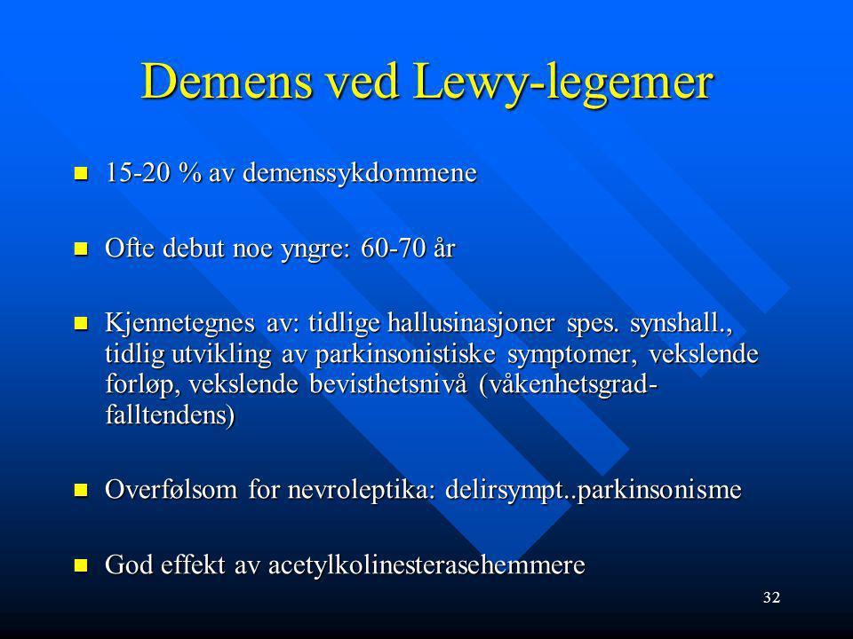 31 Sverre Pedersen 70 år gammel mann, enkemann, utviklet dårligere gangfunksjon siste året, faller lett. Ellers frisk, klarer seg i egen leilighet. Tr