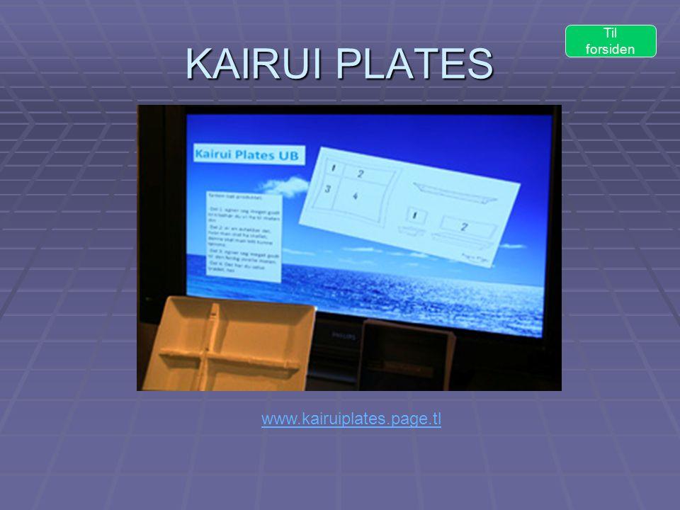 KAIRUI PLATES www.kairuiplates.page.tl Til forsiden