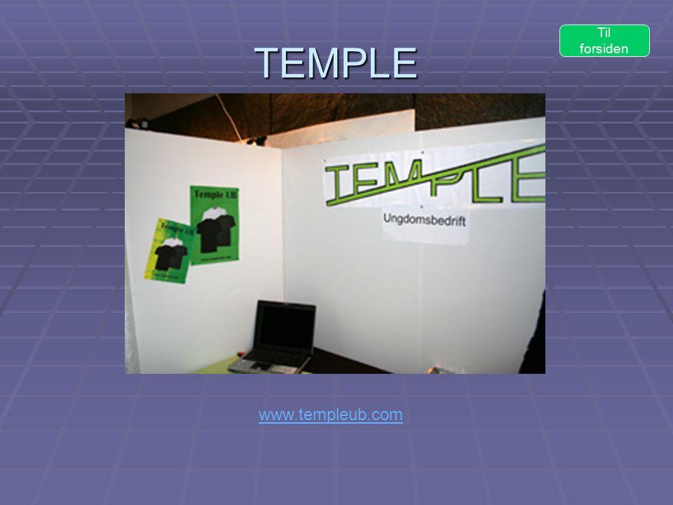 TEMPLE www.templeub.com Til forsiden