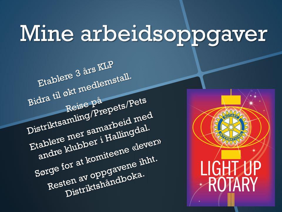 Ål Rotary hva ønsker vi.Holde på med prosjekter. Holde på med prosjekter.