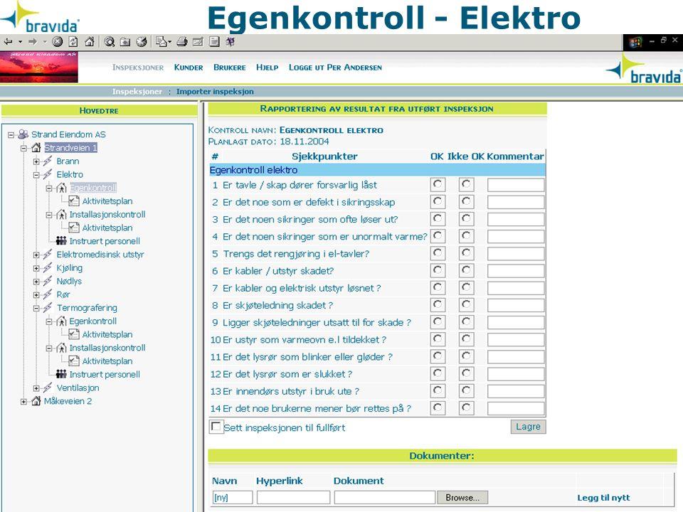 Internkontrollforskriften elektro