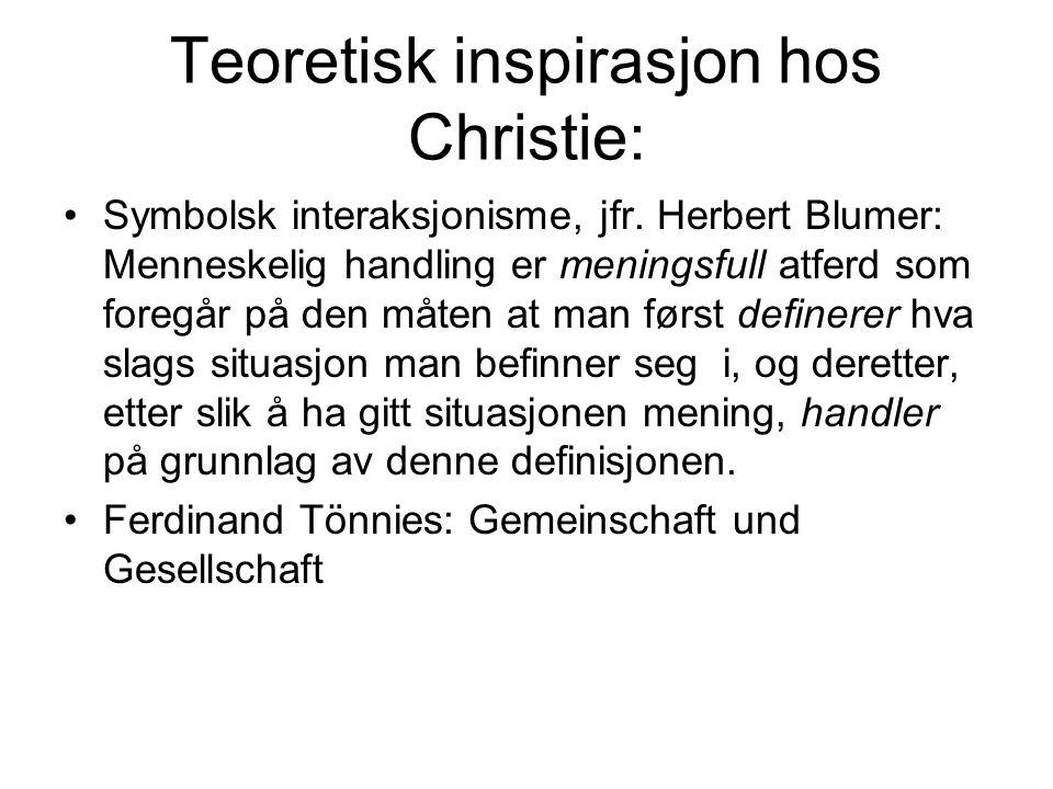 """Lei Petter Olaussen: Spissformulering: """"Kriminalitet er en sosial realitet."""" Sentralt ord for Olaussens kriminalitetsforståelse er enighetskategori"""