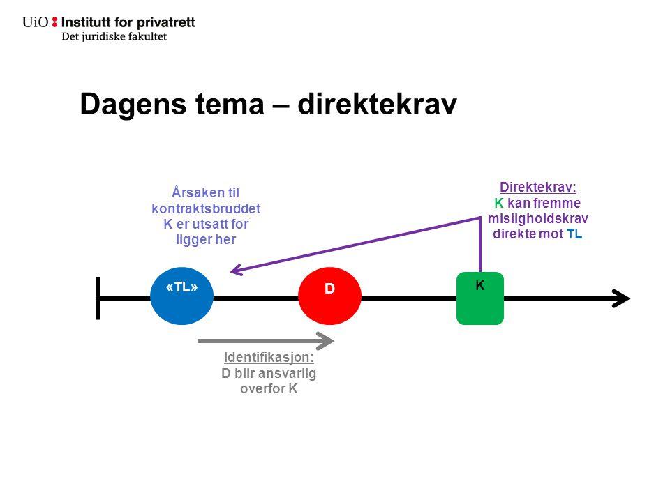 Direktekravsmodellene – springende regress Fkjl.