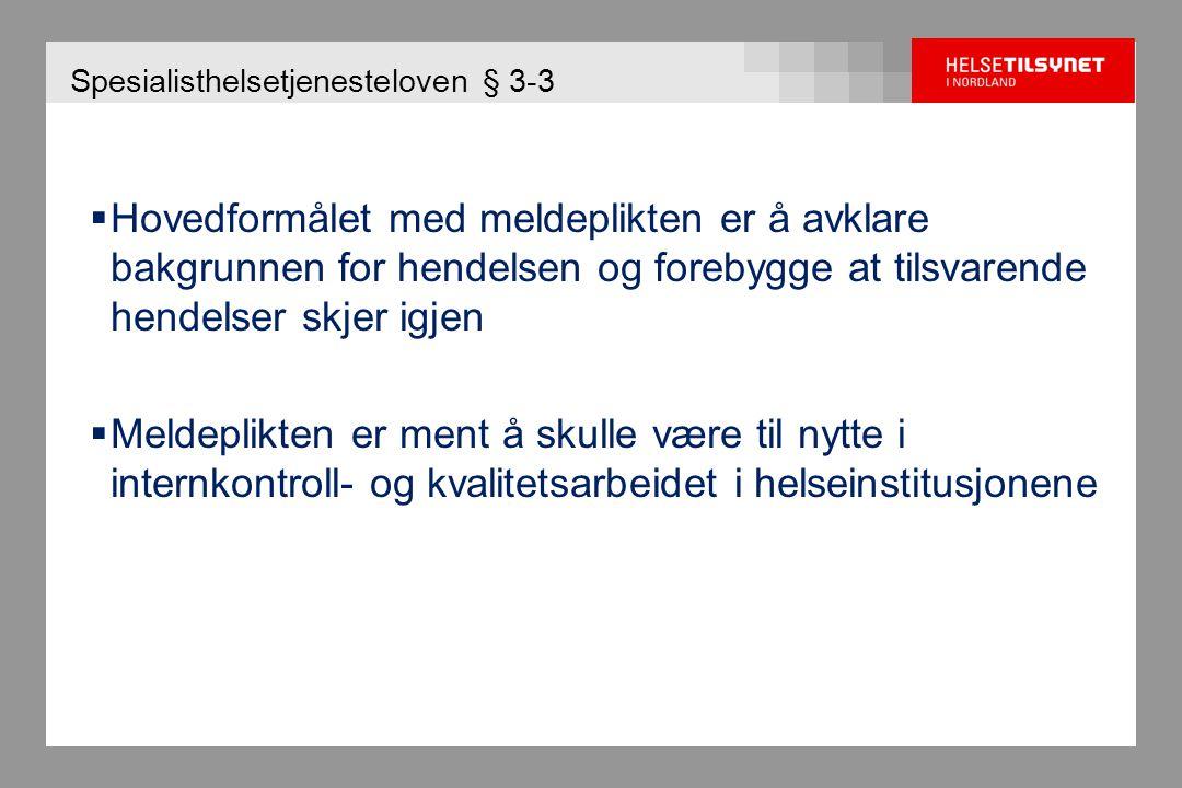 IK-2448 meldinger - 2007-2009 i Nordland