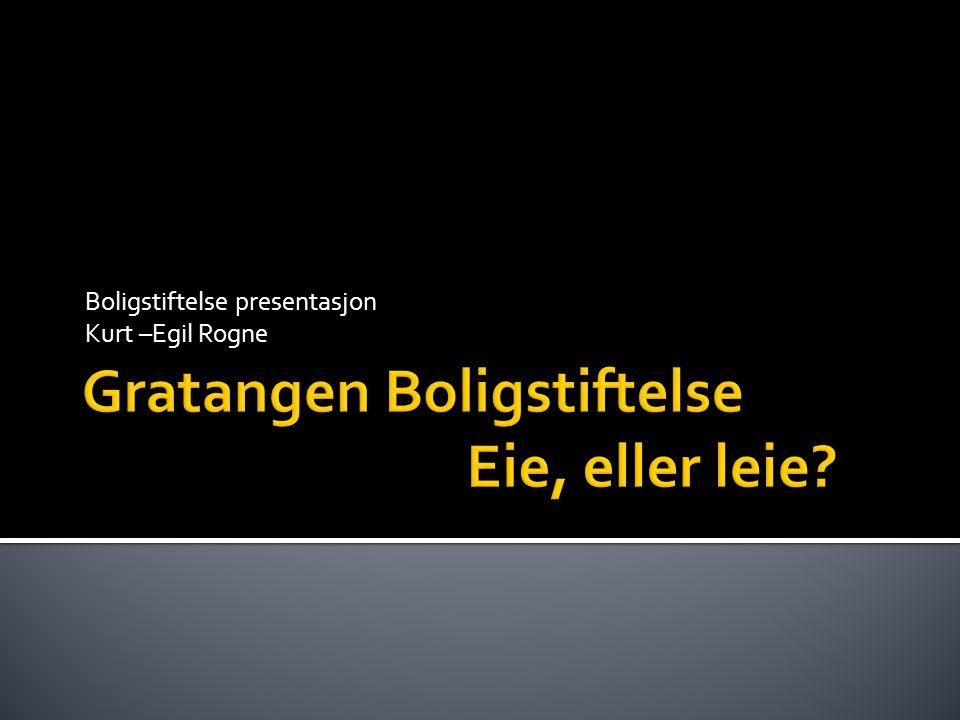  Om stiftelsen  Om leieboliger  Om eieboliger  Boligmarked dilemma  Våre muligheter  Boligsosialhandlingsplan