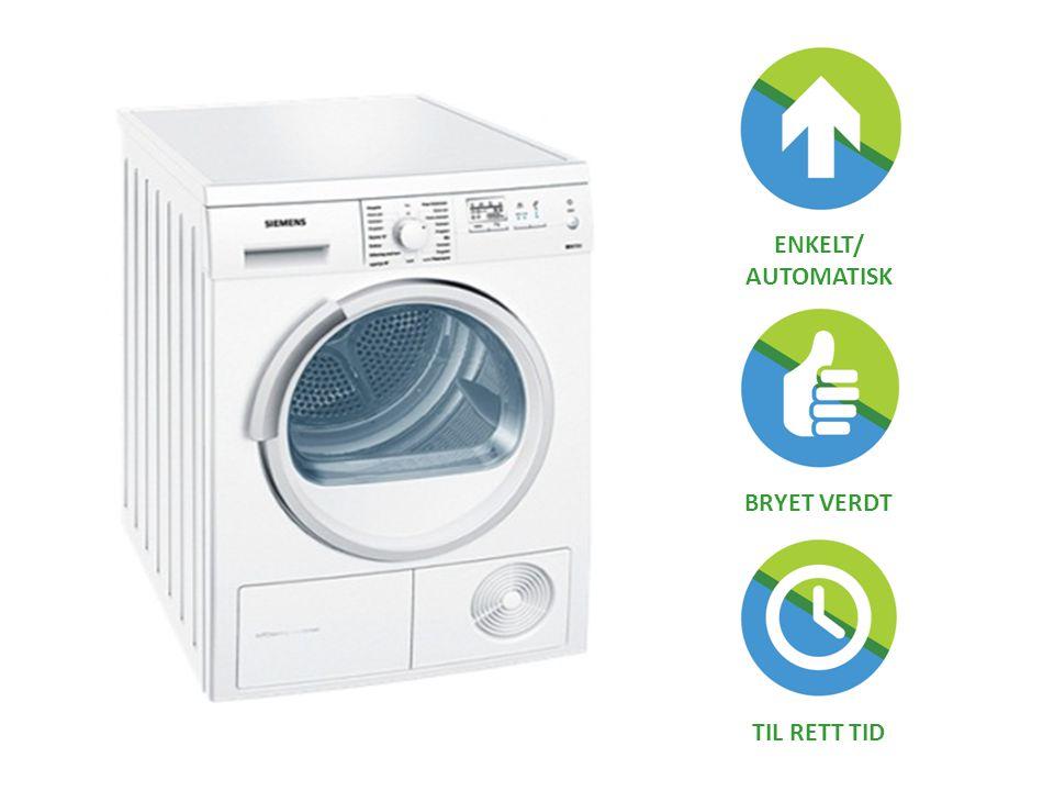 ENKELT/ AUTOMATISK BRYET VERDT TIL RETT TID