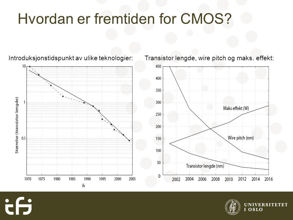 Hvordan er fremtiden for CMOS.