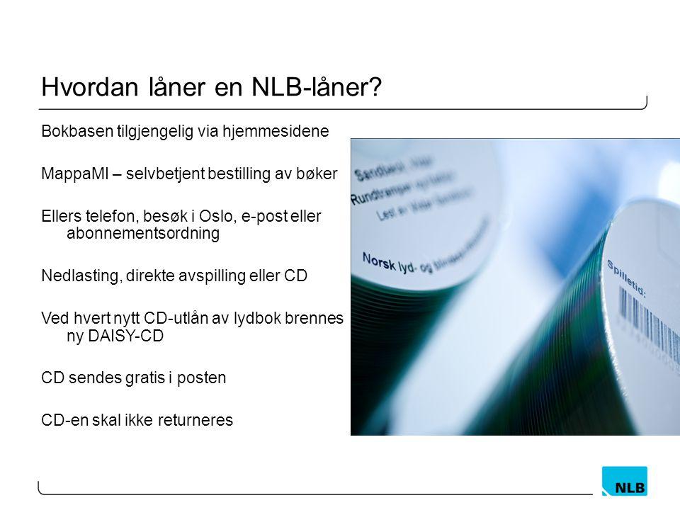 Hvordan låner en NLB-låner.
