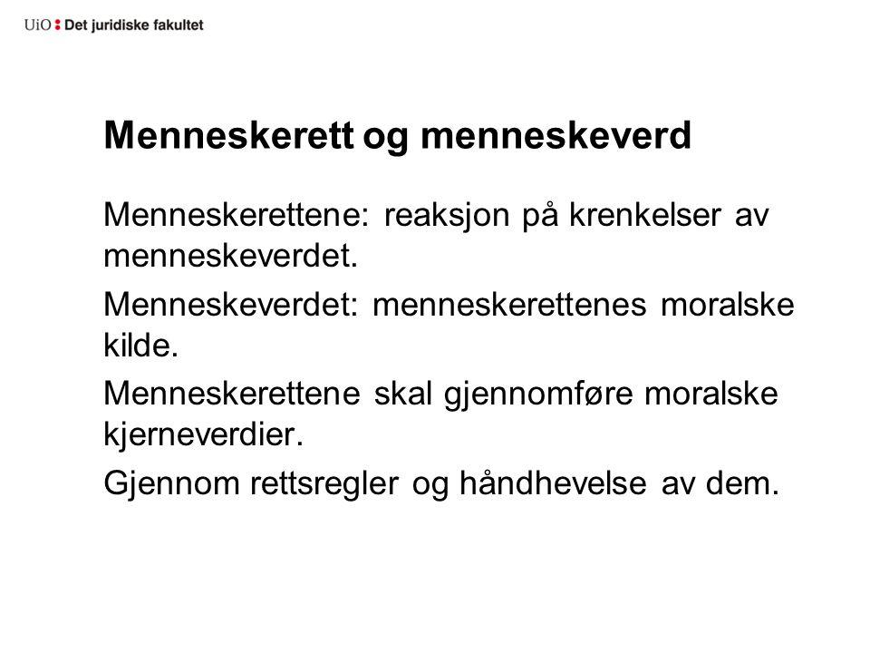 Norsk grunnlovstradisjon Retten til arbeid, § 110 (1954) Retten til medbestemmelse, § 110, 2 ledd (1980)