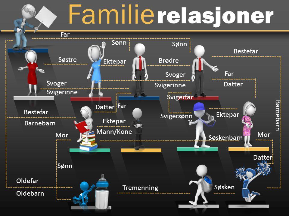 Oppgave 9 I en familie er det seks medlemmer; A, B, C, D, E og F Jobbene de har er lærer, lege, økonom, jurist, snekker og ingeniør F er økonom og sønnen til B, og er også broren til E C er jurist og er gift med A sin eneste sønn E er ikke gift og er ingeniør A er bestemor til F Legen er gift med juristen Læreren er kvinne og er gift med snekkeren Det er to ektepar i familien Hva jobber B som?