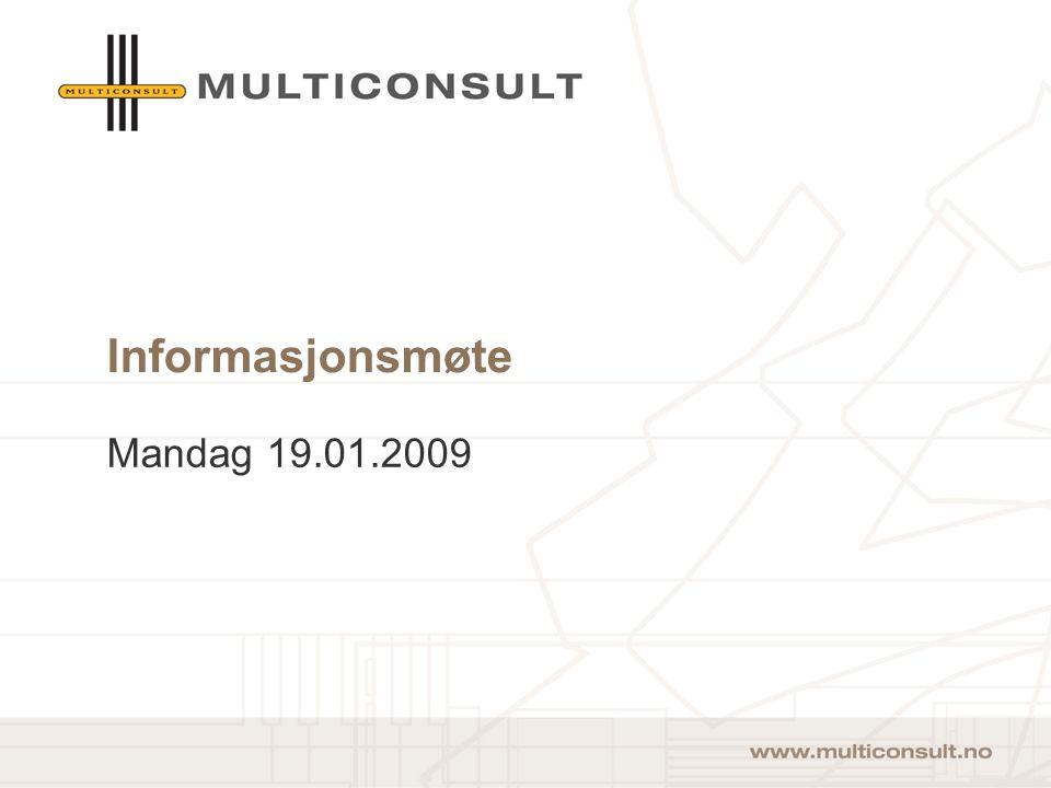 Informasjonsmøte Mandag 19.01.2009