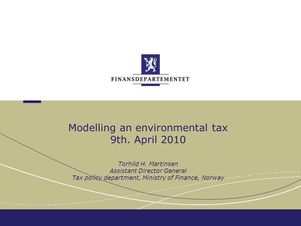 Finansdepartementet Collaboration Environmental authorities Economists Lawyers Politicians