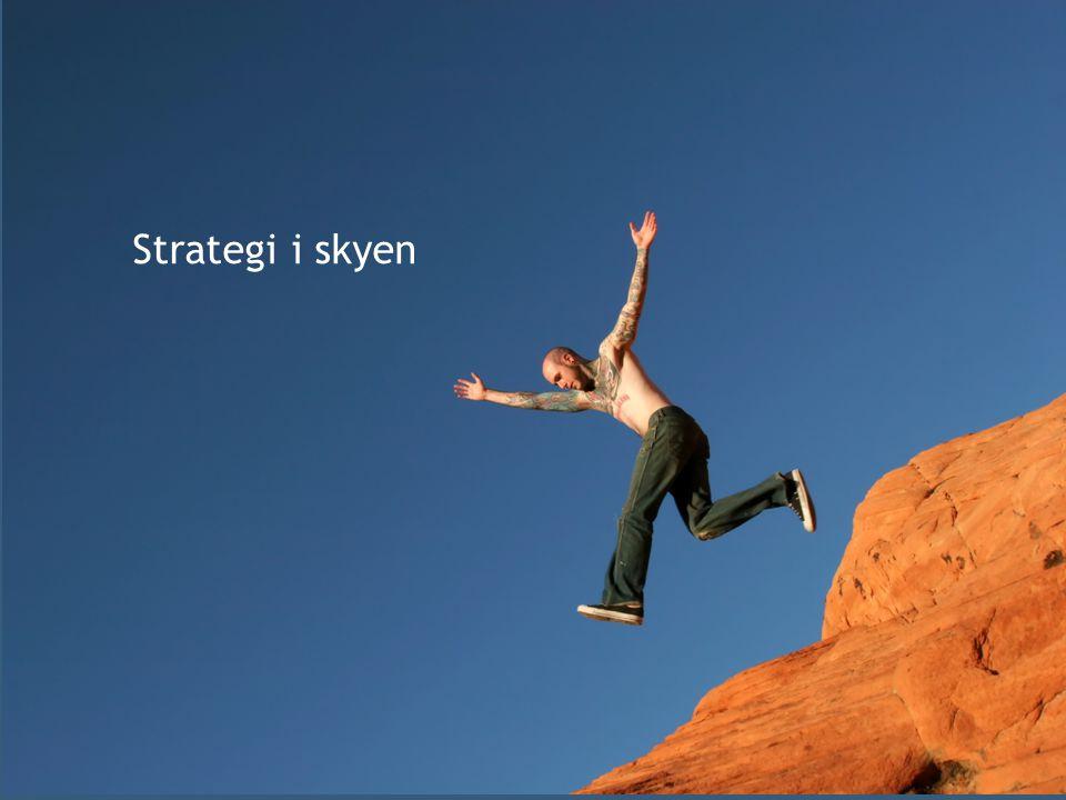 v Strategi i skyen