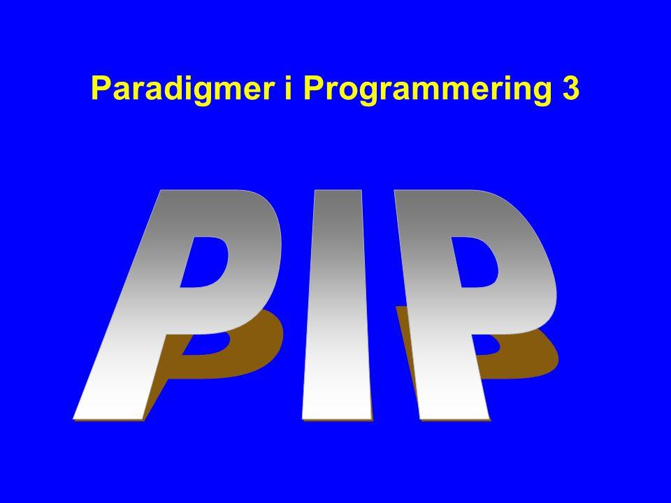 Paradigmer i Programmering 3
