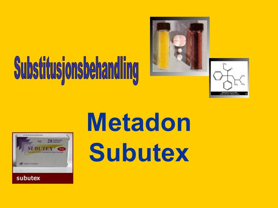 Metadon Subutex